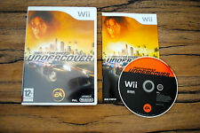 Jeu NEED FOR SPEED UNDERCOVER pour Nintendo Wii PAL COMPLET (CD OK)