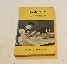 Basketry book 1950's