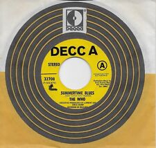 THE WHO  Summertime Blues / Heaven And Hell  rare promo 45