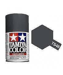 Bombe de peinture Tamiya gunship grey mat TS-48