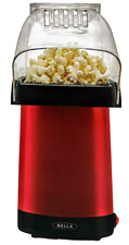 Bella Air Popper Popcorn Maker Red 16 Cup 14604 Movie Night No Oil Healthy Snack