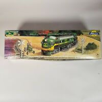 1998 Athearn John Deere HO Scale Starter Train Set Nickel Silver EZ Trak System