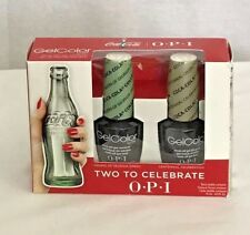 OPI Nail GelColor Lacquer Coca Cola Two Celebrate Limited Green Pewter Soak Off