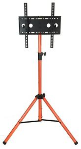 """TV Tripod Stand for LCD LED Plasma Flat Panel Fits 28 to 55"""" Paint Blemish"""