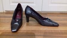 SZE 3 1/2 regolazioni costosi Grafite leatherorlandoslipon Designer scarpa corte