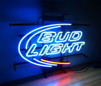 BUD LIGHT New Neon Sign Light Beer Bar Pub Boutique Wall Decor Poster Display