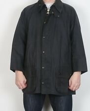 "BARBOUR Beaufort Wax Coat Jacket Chest 44"" Navy Large XL (5DH)"