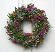 FRI-Collection Türkranz Herbstkranz Kranz mit Naturmaterialien frisch 41 cm