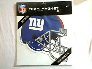 "New York Giants 12"" Helmet Car Magnet NFL Licensed Vinyl Auto Emblem(New)"