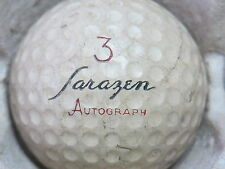 (1) Gene Sarazen Signature Logo Golf Ball (Cir 1957 #3 Auograph)