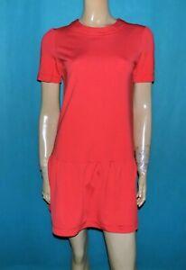robe PINKO orange manches courtes Taille : 38 FR ou 42 IT très bon état