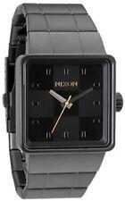 Nixon The Quatro Gunmetal Ion-plated Mens Watch A013680
