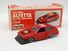 Polistil 1/41 - Alfa Romeo Alfetta GTV 2000 Turbo Delta
