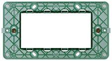 VIMAR 14614 Supporto 4 moduli, con viti, per scatole 4 moduli