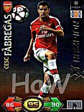 Cesc Fábregas Champion PANINI Champions League 2009/2010 09 10 Update