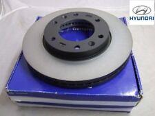 Genuine Hyundai i20 2011-on Vented Front Brake Disc Kit (2x Discs) - 51712C8500