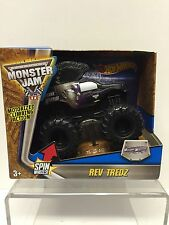 Hot Wheels Monster Jam Rev Tredz Mohawk Warrior Monster Truck 1:43 CHV51
