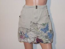 """"""" DESIGUAL """" JUPE FORME BOULE AVEC BRODERIES TAILLE 38"""