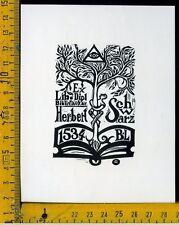 Ex Libris Originale Alexandro Radulescu c 083