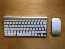 Apple Mac Wireless Keyboard and Magic Mouse Complete Duo Set in Good Condition