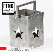 PTMD Aluminium Windlicht Teelicht Laterne Stern Kerzenhalter Weihnachten 648146