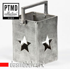 PTMD Aluminium Windlicht Teelicht Laterne Stern Kerzenhalter Balkon 648146