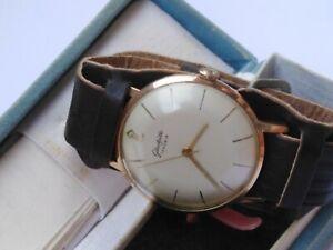 Vintage GUB Glashutte 17 Rubis Cal 70.1 Men's Watch in a Box