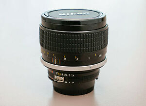 Nikkor 85mm f1.4 AI-s