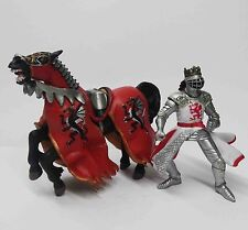 PAPO Roman Knights Soldier & Horses Warrior Figure on Horse 1:18 figure N2