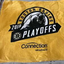 BOSTON BRUINS V. TORONTO MAPLE LEAFS ROUND 1-2018 RALLY TOWEL@ TD NORTH GARDEN-