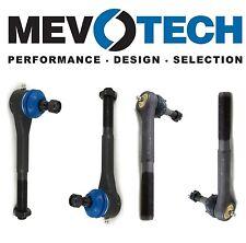 For GMC K1500 K2500 K3500 Front Inner & Outer Tie Rod Ends KIT Mevotech
