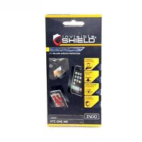 ZAGG INVISIBLE SHIELD SCREEN PROTECTOR FOR HTC ONE M8 MILITARY GRADE HO8OWS-F00
