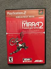 Dave Mirra: Freestyle BMX 2 Greatest Hits (Sony PlayStation 2, 2002) Complete