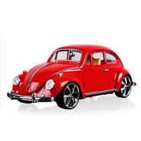1:18 Classic VW Beetle Superior 1967 Model Car Diecast Collectable Vehicle Red