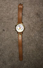 Vintage Mickey Mouse Lorus Watch Leather Band