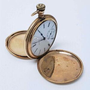 1904 Elgin Pocket Watch Model 6 16s 17 Jewel Grade 242 USA Movement ZC-EPW0427