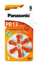 12st Panasonic Hearing Aid batteries Air Zinc  Typ PR 13