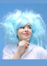 Womens Princess Turquoise Aqua Blue Wig