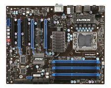 MSI X58 Pro-E MS-7522 LGA 1366 für i7 CPUs GBit LAN RAID 6x DDR3 Slot ink Blende