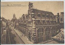 CARTOLINA -59 - DUNKKERQUE - Hotel dei Postes e Rue del Président Poincaré