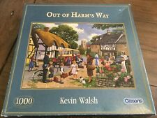 Gibson's 1000 piece jigsaw Out of Harms Way complete