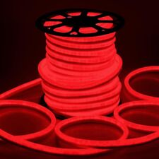 DELight® 150' FT Red LED Neon Rope Light Flex Tube Sign Holiday Decor. Lighting