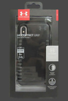Under Armour Protect Grip Hybrid Hard Case for iPhone X & XS  Black Graphite
