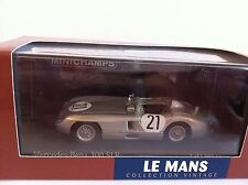 Minichamps 1/43rd Scale Mercedes 300 SLR King Simon Le Mans 1955 432553021 New