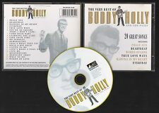 THE VERY BEST OF BUDDY HOLLY And the Picks 1999 CD Original UK