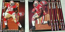 NFL San Francisco 49ers NFC West FATHEAD Tradeables ~ collectible wall decal