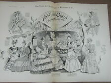 L' ART ET LA MODE - 1893 - No 25 - ILLUSTREE - CIRCUS CIRQUE MOLIER par GERBAULT