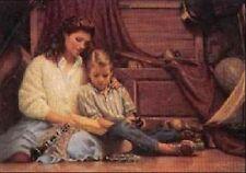 Robert Olson Mother/Son Print THE HOPE CHEST S/N LtdEd