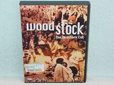 "*****DVD-VARIOUS ARTISTS""WOODSTOCK-THE DIRECTOR'S CUT""-2000 Warner*****"