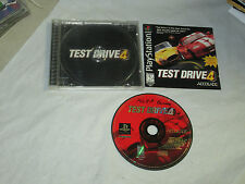 Test Drive 4  (PlayStation 1 , 1997) complete